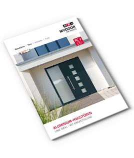 Prospekt Aluminium Haustüren Ideal